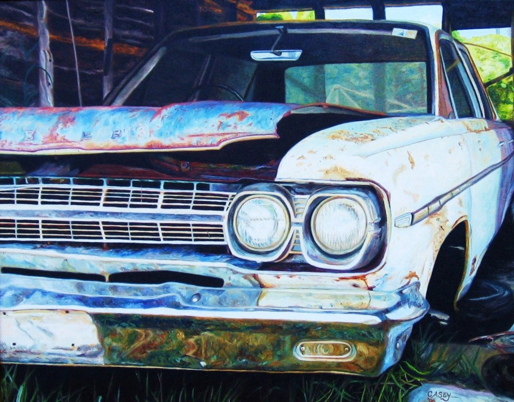 'Jonesy's Rambler' Oil on Canvas 75cm x 62cm