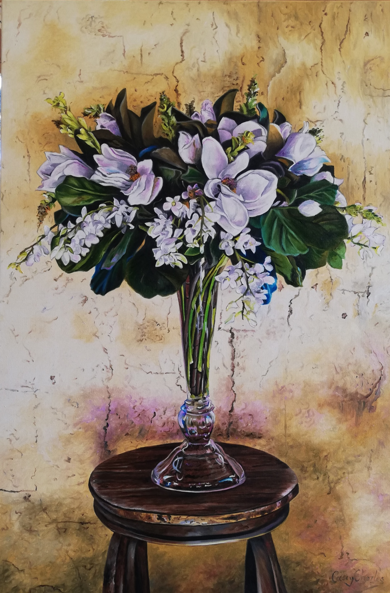 'Hunter Valley Still Life'  Oil on Canvas  51 cm x 70 cm