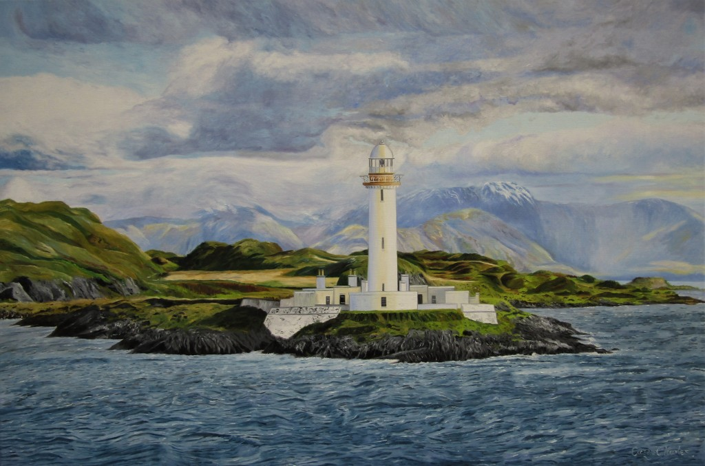 'Lismore Lighthouse' Oil on Canvas 90cm x 60cm
